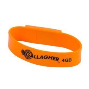 4GB USB Memory Wristband