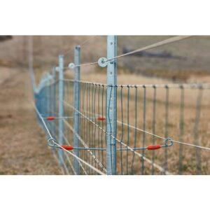 Double End Steel Post Live Tip Lockset Offset
