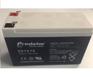 EF 202 12V 7.2 AH rechargeable battery