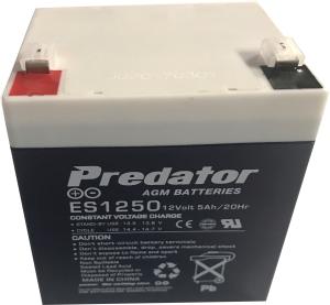 EF 203 12V 5.5 AH rechargeable battery