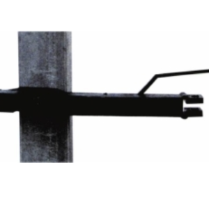 EF 22 steel post 125 mm tape offset