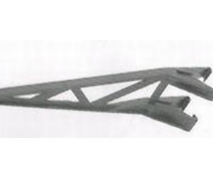 EF 28S steel post 300 mm plastic offset