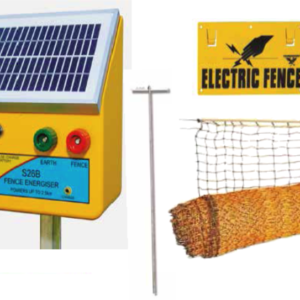 EF-SGCNET-KIT Solar Sheep Goat Netting