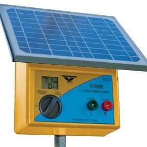 Large Solar Fence Energiser - with internal batteries fitted!
