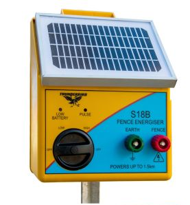Small Solar Energisers - with Built in Battery